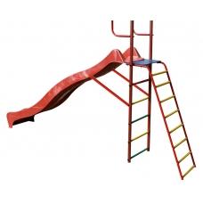 Наклонная лестница с площадкой для горки к ДСК